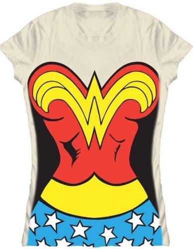 : Juniors' Wonder Woman Costume T-shirt