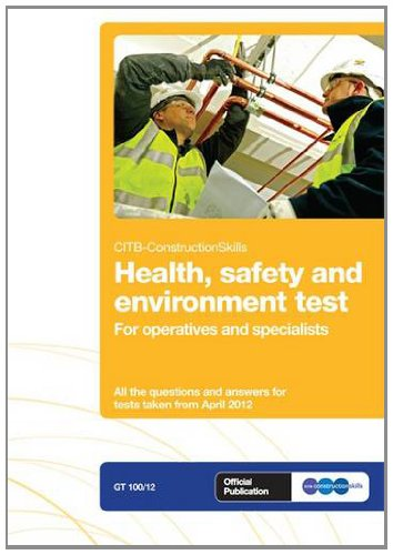 CSCS test Revision Book for operatives and specialists