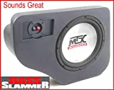 MTX Thunderform Unloaded Subwoofer Enclosure for 1991-2001 Ford Explorer, Merc Mountaineer & Mazda Navajo FEX10U for 1-10