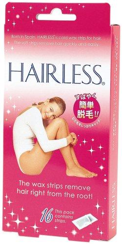 ヘアレス 脱毛ワックスシート 16枚