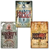 Scott Mariani Scott Mariani Collection 3 Books Set, (Shadow Project, the Alchemist's Secret and The Doomsday Prophecy)