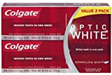 Colgate Optic White Toothpaste Twin Pack, 8 Ounce