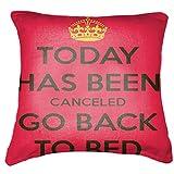 "Belkado Today Cushion Cover Throw Pillow ( Multi Color, 12""x12"" ) - B00TPEM0MI"