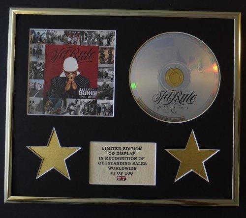JA RULE/CD Display/Limitata Edizione/Certificato di autenticità/PAIN IS LOVE
