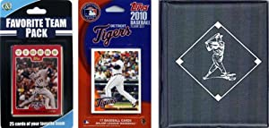 MLB Detroit Tigers Licensed 2010 Topps Team Set and Favorite Player Trading Cards... by C&I Collectables