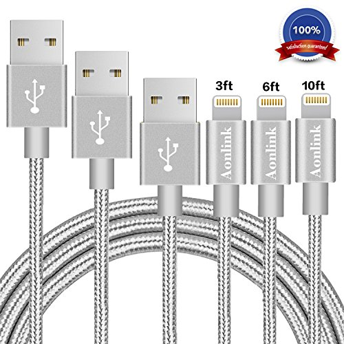 Aluminum Lightning Iphone Charger Cable