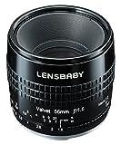 Lensbaby ソフトレンズ Velvet 56 56mm F1.6 ニコンFマウント ブラック フルサイズ対応 860052