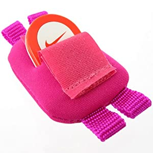 Mivizu Shoelace sensor Pouch for Nike + iPod Sport Kit (Hot Pink)