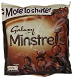 Galaxy Minstrels Pouch 290 g (Pack of 12)