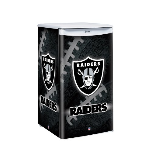 NFL Oakland Raiders Counter Top Refrigerator