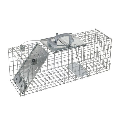 One Door Cage Trap for Rabbits Skunks And Squirrels