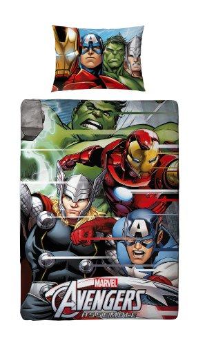 Parure de lit housse de couette r versible avengers hulk - Housse de couette iron man ...