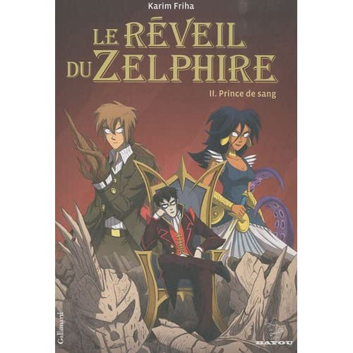 Le reveil du Zelphyre de Karim Friha- BD (PDF) - FR