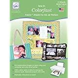10-pack Colorfast White Printer Fabric ~ June Tailor