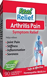 Homeolab USA Arthritis Relief Tablets, 90 Chewable Tablets