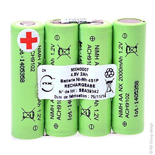 NX - Batteria NiMH 4X AA NX 4S1P ST1 4.8V 2000MAh S