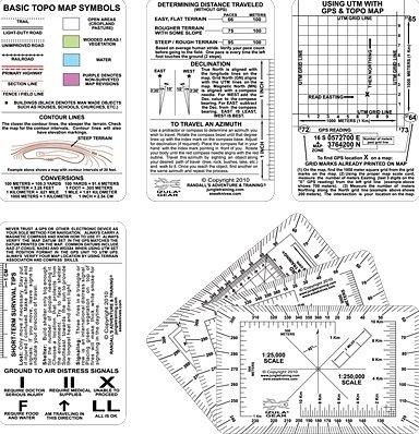 Esee Izula Gear Navigation Card Set ES-NAVCARD from Esee