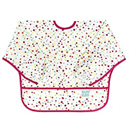 Bumkins Waterproof Sleeved Bib, Confetti (6-24 Months)