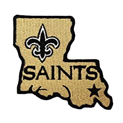 Orleans Saints Logo II Embroidered Iron Patches
