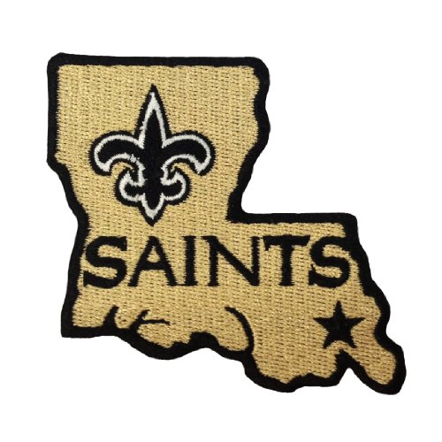 New Orleans Saints Logo II Embroidered Iron Patches at Amazon.com