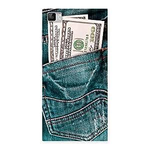 Impressive Pocket Full Jeans Multicolor Back Case Cover for Xiaomi Mi3