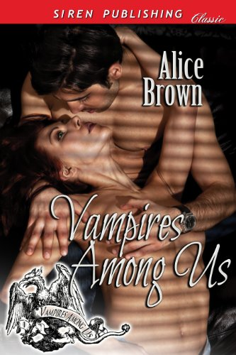 Book: Vampires Among Us by Alice Brown