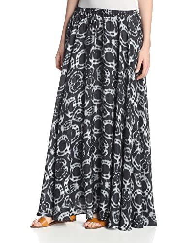 DA-NANG Women's Woven Drawstring Skirt