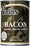 12 Cans (full case) Yoders Canned Bacon 9 Oz Each