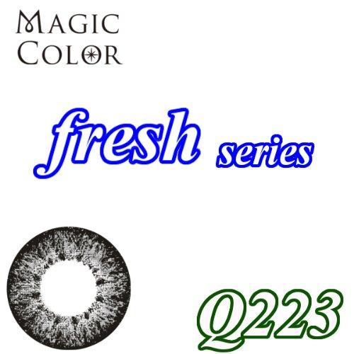MAGICCOLOR (マジックカラー) fresh Q223 度なし 14.5mm 1ヵ月使用 2枚入り