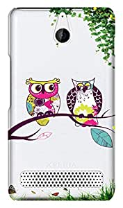 WOW Transparent Printed Back Cover Case For Sony Xperia E1