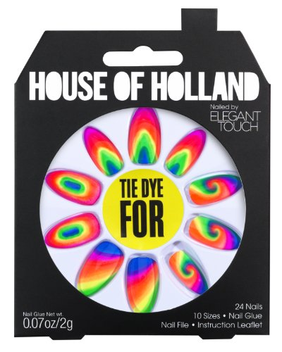 House of Holland - Tie Dye For Press On Nails (Tie Dye Nails compare prices)