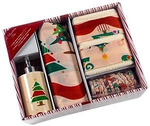home fashions 16 piece bath set o christmas tree home