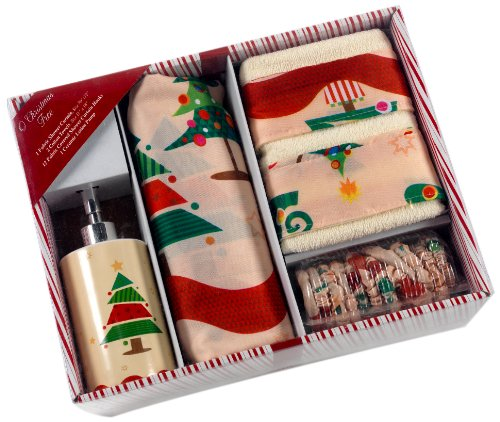 O Christmas Tree Bath Set