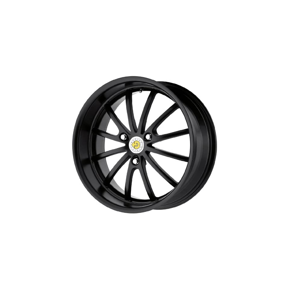 Genius Wheel Darwin Matte Black Wheel (15x6.5/3x112mm)
