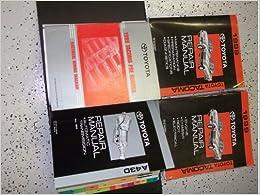 1999 Toyota Tacoma Truck Service Repair Shop Manual Set ...