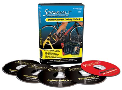 Spinervals Ultimate Interval Training - DVD 5 Pack