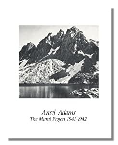 Ansel adams b w photo mountains 1 mural for Ansel adams mural project posters