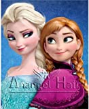 New Disney Movies Frozen Snow Queen Elsa Weaving Braid Cosplay Wig 2 Color