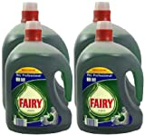 4x Fairy Original Washing Up Liquid 2.5 Litre (In Total 10 Litres)