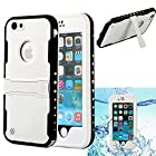 iPhone 6 Case, iPhone 6 Waterproof Case, oneCase™ IP-68 Waterproof Shockproof Snowproof Dirtpoof Protection Case Cover Built-in Kick Stand with Hand Strap & Headphone Adapter for Apple iPhone 6 4.7 inch Screen, White