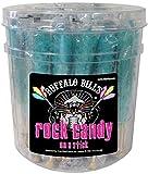 Buffalo Bills Cotton Candy (Light Blue) Rock Candy On A Stick (36 rock candy crystal sticks per tub)