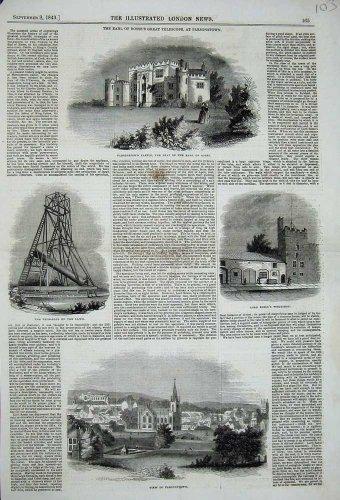 1843 Parsonstown Castle Earl Rosse Telescope Workshop