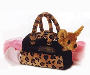 Aurora Plush Chihuahua Fancy Pals purse