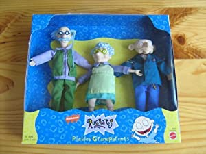 NEW Mattel RUGRATS Pickles Grandparents RARE Nickelodeon