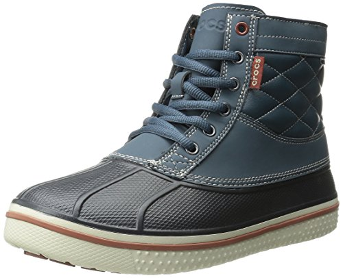 Crocs Allcast Waterproof Duck Boot M, Scarpe sportive da Uomo, colore blu (nightfall/stucco 0m7), taglia 46-47 EU (11 UK) (M12 US)