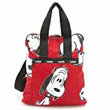 LeSportsac 8240 G074 SNOOPY FUN RED スヌーピー エブリデイ バックパック EVERYDAY BACKPACK 2WAY リュックサック ハンド バッグ かばん レスポートサック [並行輸入品]