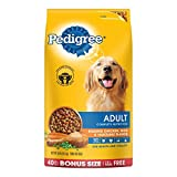 PEDIGREE Adult Roasted Chicken, Rice & Vegetable Flavor Dry Dog Food 40 Pounds