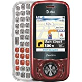 Pantech Matrix C740 Unlocked Quadband GSM/3G Phone with Music Player, Camera, Bluetooth and microSD Slot - Red