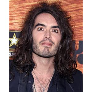 RUSSELL BRAND 11X14 PHOTO