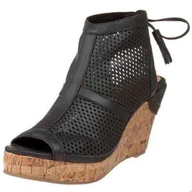 Amazon.com: 80%20 Women's Jordan Wedge,Black,6 M US: Shoes